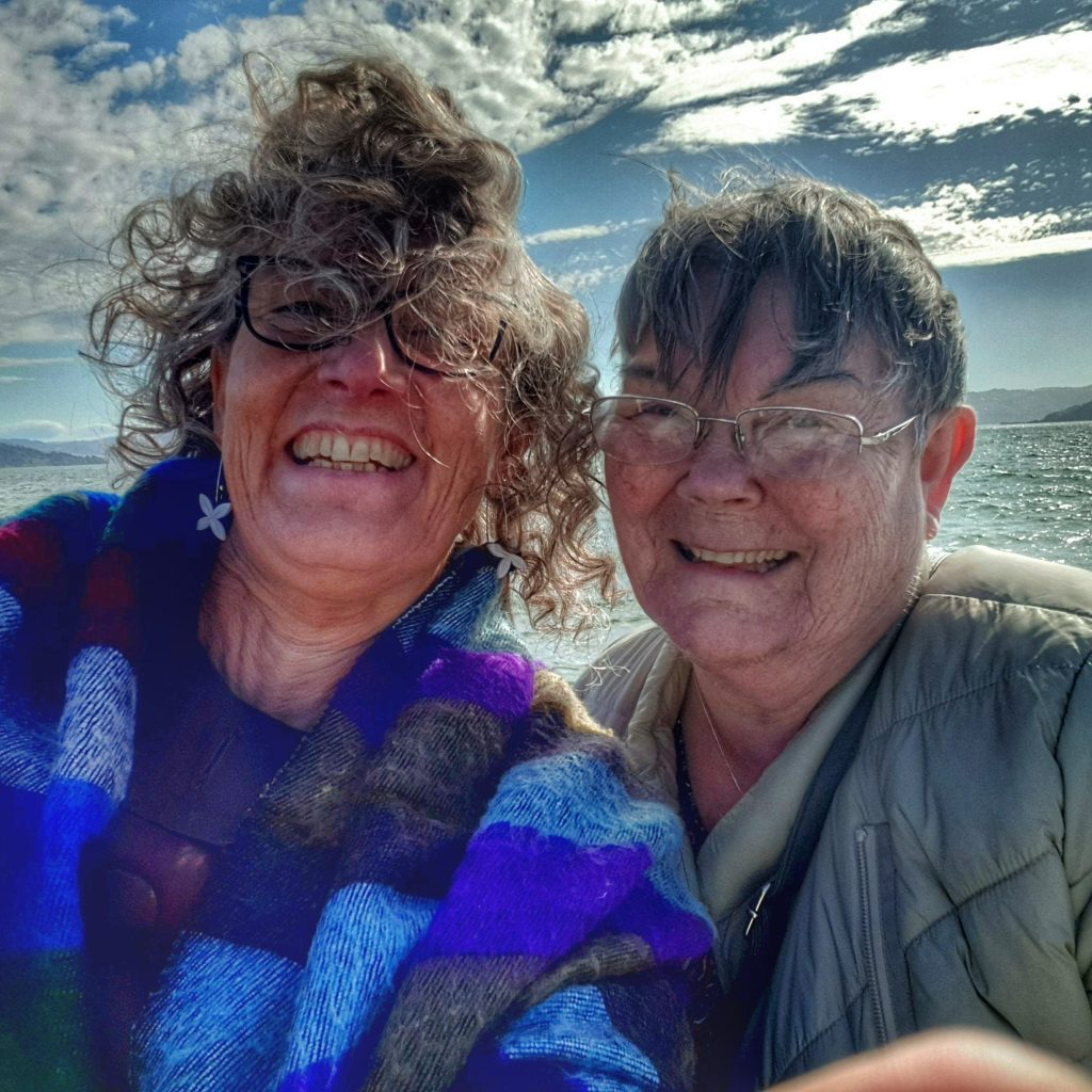 windswept ladies